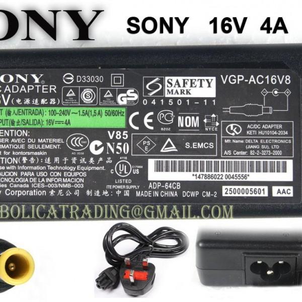 Sony 16v - 4a