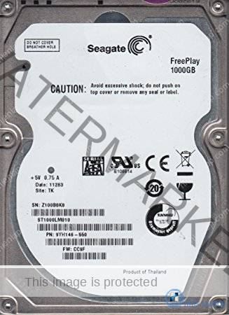 SEAGATE 1TB 5400RPM LAPTOP