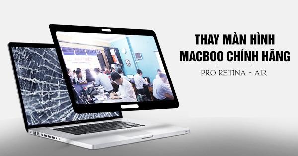 sua man hinh laptop macbook 2 Sửa màn hình laptop Macbook uy tín TPHCM
