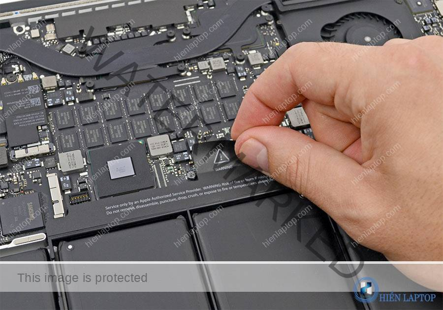 nâng cấp ổ cứng laptop macbook