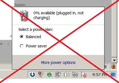 Cách sử dụng và bảo quản pin laptop