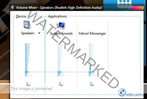 Kiểm tra lại nút Volume trên laptop