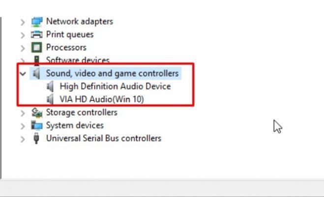Cài đặt lại Driver âm thanh cho laptop