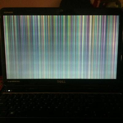 Các lỗi thường gặp trên màn hình laptop Dell