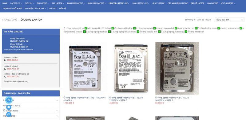 Hiển laptop chuyên nâng cấp laptop cũ chính hãng uy tín