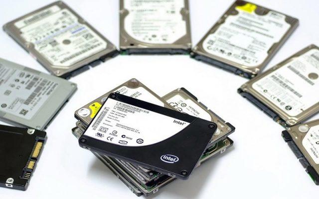 Hình ảnh minh họa ổ cứng SSD