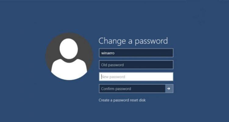 Truy cập vào Quản trị để đổi mật khẩu.